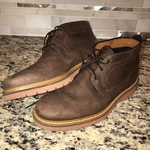 Clarks Newkirk Top Boots